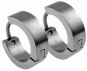 Náušnice z chirurgické oceli kroužky SEE066MS