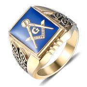 Pánský pečetní prsten WJHC55 - Zednáři