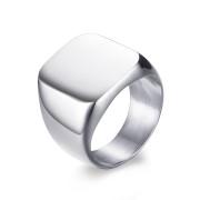 Ocelový pečetní prsten pro muže JCFCR294S