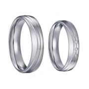 Svatební prsteny z chirurgické oceli SPPL035
