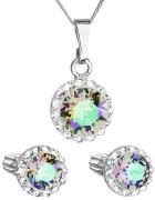 Souprava šperků Swarovski elements 39352.5 Paradise shine