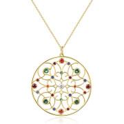 Zlatý náhrdelník Brosway Corinto BOI04