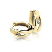 Náušnice kroužky zlaté C2023Y