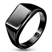Pánský pečetní prsten ocelový 7685K
