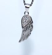 Stříbrný přívěsek andělské křídlo 308405