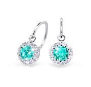 Náušničky pro miminko Cutie Jewellery C2745B-Mint Green