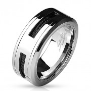 Ocelový prsten 4597