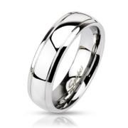 Ocelový prsten Spikes 0021
