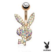 Piercing do pupíku Playboy 025RD-AB