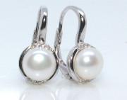 Visací perlové náušnice 308281