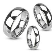 Wolframový prsten Spikes 020