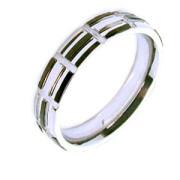 Ocelový prsten SEJR1731-S