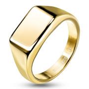 Pánský pečetní prsten ocelový 7685G
