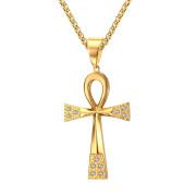 Přívěsek nilský kříž zlatý JCFPN644G
