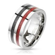 Ocelový prsten Spikes KR2686