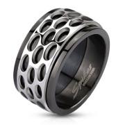 Ocelový prsten Spikes 2804