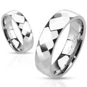 Ocelový prsten Spikes 2507