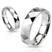 Ocelový prsten Spikes 2503