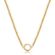 Pozlacený náhrdelník chirurgická ocel Brosway Catena BCT55