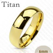 Snubní prsten z titanu 4383-6