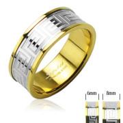Ocelový prsten Spikes SERH98