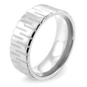 Ocelový prsten MCRSS001