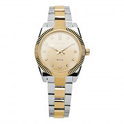 Dámské zlaté hodinky na ruku Brosway Déco WDC10
