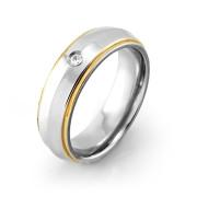 Ocelový prsten MCRSS010