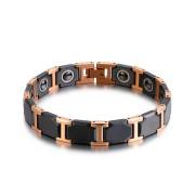 Černý magnetický náramek WJHB359