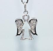 Přívěšek stříbrný anděl 305822