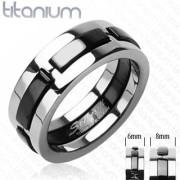 Titanový prsten Spikes SEHRTI3437