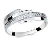 Stříbrný prstýnek se zirkony 1844