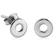 Ocelové pecky se symbolem kruhu SESCES562