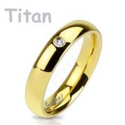 Titanový prsten Spikes 4373