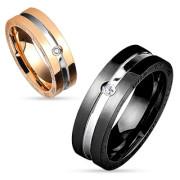 Snubní prsteny chirurgická ocel 4580