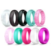 Set silikonových dámských  prstenů JCFSH8000