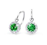 Náušničky pro miminko Cutie Jewellery C2745B-Green