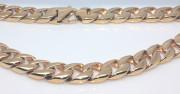 Zlatý pánský ocelový řetěz WJHN04-GD