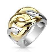 Ocelový prsten Spikes 1084