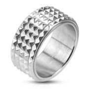 Ocelový prsten Spikes 2812