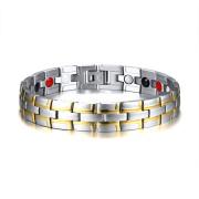 Ocelový magnetický náramek JCFSBRM-014-GS