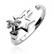 Stříbrný prsten 031