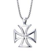 Přívěsek kříž chirurgická ocel JCFPN722