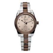 Dámské zlaté hodinky na ruku Brosway Déco WDC11