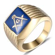 Pánský pečetní prsten WJHZ54 - Zednáři