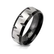 Ocelový prsten Spikes 1180