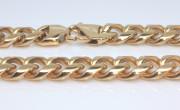 Pozlacený pánský náhrdelník chirurgická ocel WJHN141N-GD