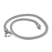Ocelový náhrdelník s kamínky WJHN54