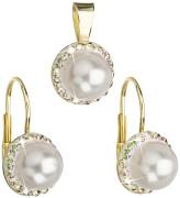 Sada stříbrných šperků se Swarovski elements 39091.6