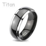 Titanový snubní prsten Spikes 3034